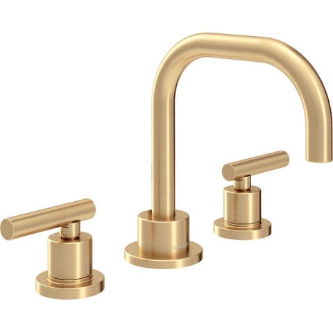 Symmons SLW-3512-1.5 Dia 1.5 GPM Widespread Bathroom Faucet with Pop-Up Drain Assembly -