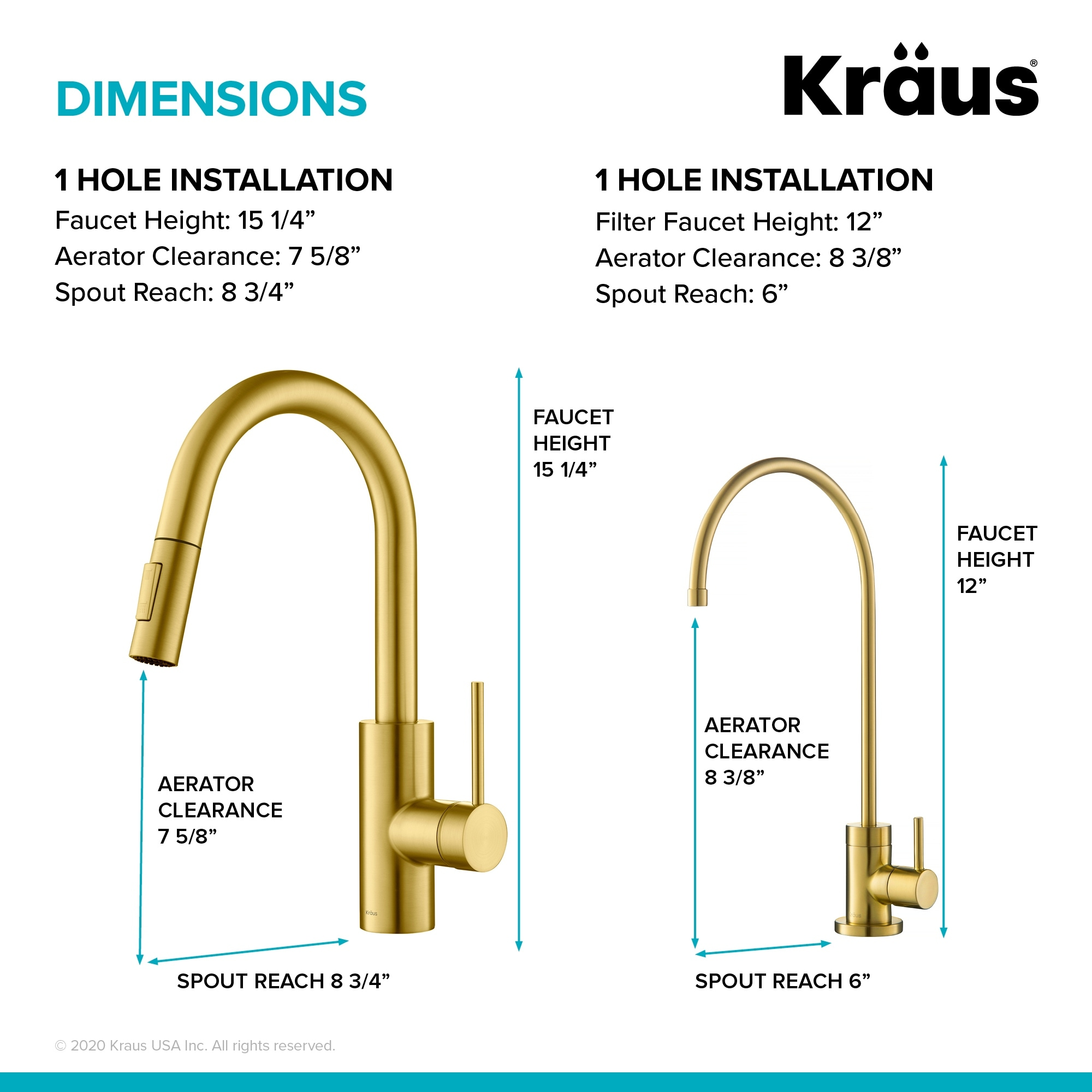kraus kpf 2620 oletto 1 handle 2 function pulldown kitchen faucet