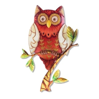 Link to Owl Red Wall Decor - 8 x 1 x 9 Similar Items in Outdoor Decor