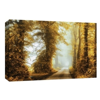 "PTM Images 9-148196  PTM Canvas Collection 8"" x 10"" - ""Into the Mist"" Giclee Forests Art Print on Canvas"