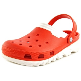 Crocs Duet Max Round Toe Synthetic Clogs