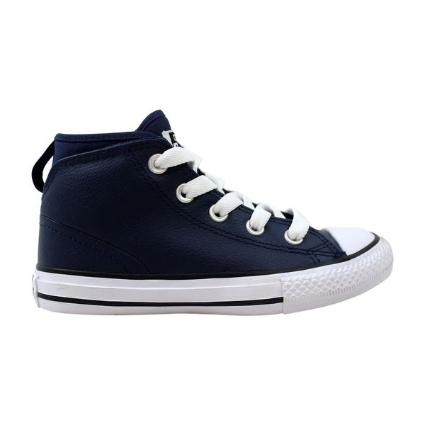 97e6611e4360 Converse Chuck Taylor All Star Syde Street Mid Midnight Navy Pre-School  657539C Size 12.5