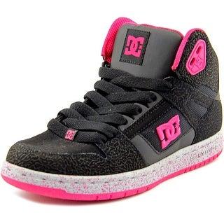 DC Shoes Rebound Hi SE Round Toe Leather Skate Shoe