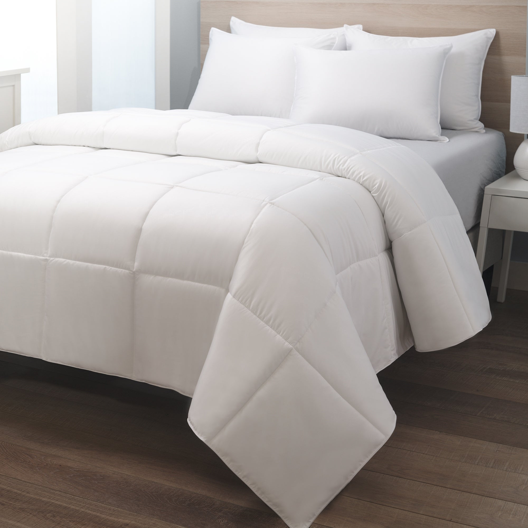 White Goose Down Comforter 233 Thread Count By Cozy Classics On Sale Overstock 32085777
