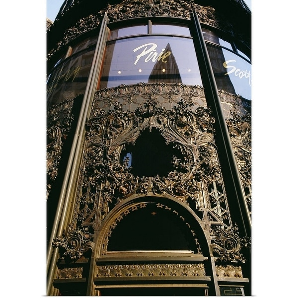 Poster Print entitled Low angle view of a commercial building, Carson Pirie Scott building,