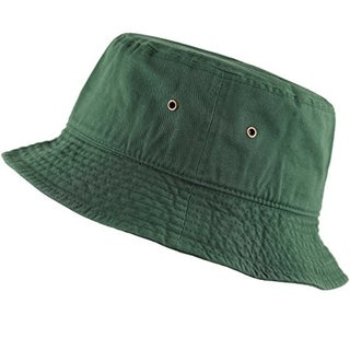 Bucket Hat 100% Cotton Packable Summer Travel (More options available)