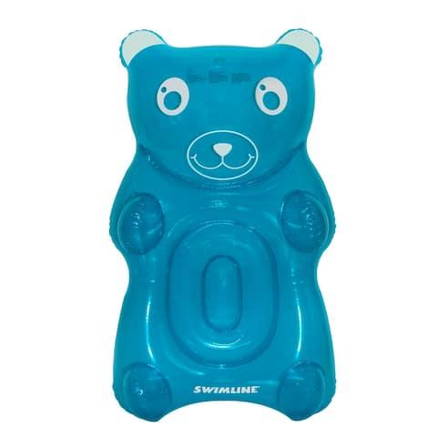 "60"" Blue Gummy Bear Swimming Pool Float"