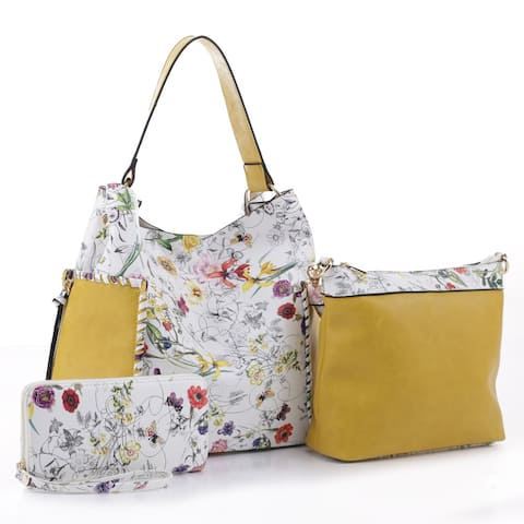 MKF Collection Anny Hobo/ Pouch and Wallet Set by Mia K.
