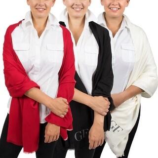 Gianfranco Ferre Essential Pashmina Scarves - Gift Set of Three - 72-26