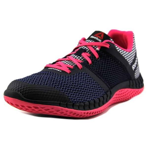 Reebok ZPrint Run GHM Youth  Round Toe Synthetic Pink Sneakers