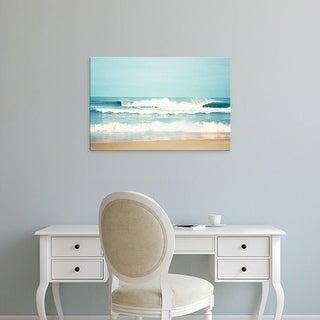 Easy Art Prints Carolyn Cochrane's 'Salty Sea Air' Premium Canvas Art