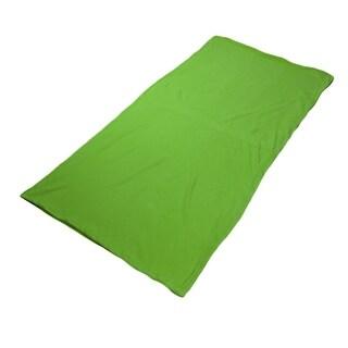 Outdoor Climbing Activities Portable Foldable Zipper Closure Sleeping Bag Green