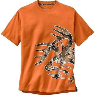 Legendary Whitetails Men's Wild Buck Big Game Camo T-Shirt