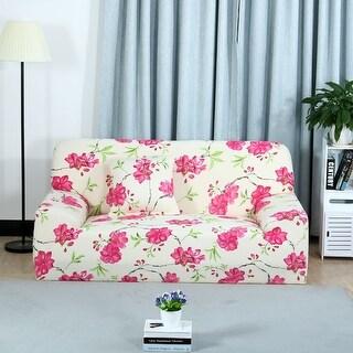 Unique Bargains Flora Print Elastic Fabric Sofa Covers Stretch Sofa Slipcovers (1 2 3 Seater)