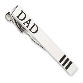 Chisel Stainless Steel Dad Tie Bar