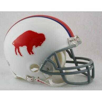 Buffalo Bills 19651973 Throwback Riddell Mini Football Helmet