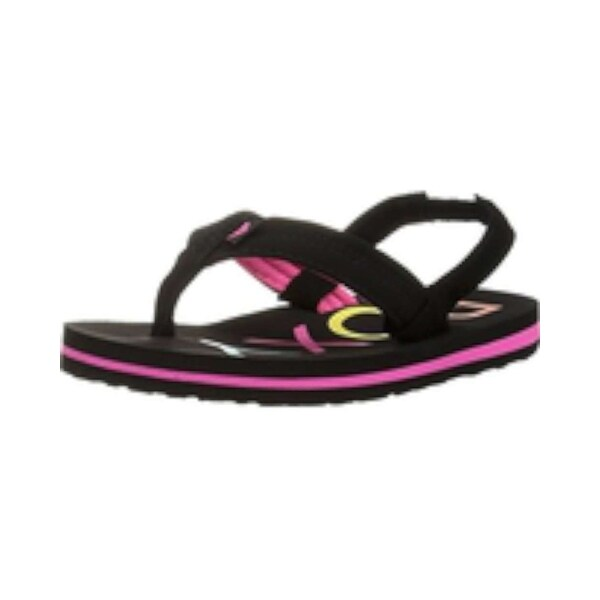 36732bb84e4 Kids Roxy Girls TW Vista Fabric Slip On SlingBack Flip Flops - 6 m toddler  us