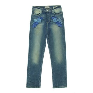 Guess Womens Capri Jeans Skinny Embroidered - 26