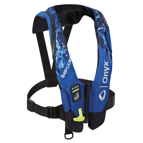 Onyx impulse a-24 in-sight auto inflatable pfd moe marlin