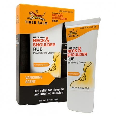 Tiger Balm T-42101 Neck & Shoulder Rub, 1.76 Oz
