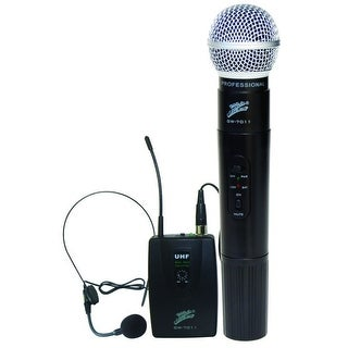 Zebra Wireless Mic System 2 Channels FM
