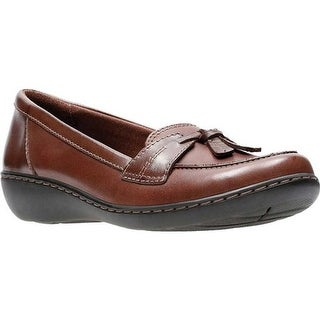 Clarks Women's Ashland Bubble Brown Leather
