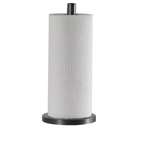 Laura Ashley Speckled Paper Towel Holder in Grey