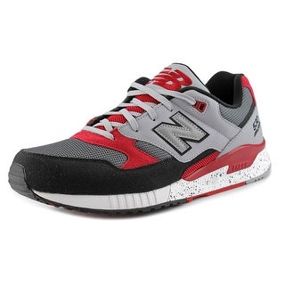 New Balance M530 Round Toe Canvas Sneakers
