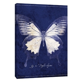 """PTM Images 9-108427  PTM Canvas Collection 10"""" x 8"""" - """"Butterfly B"""" Giclee Butterflies Art Print on Canvas"""