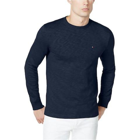 e219bc37 Tommy Hilfiger Men's Henson Basic Crew-Neck Sweater Navy Size Extra Large -  Blue -