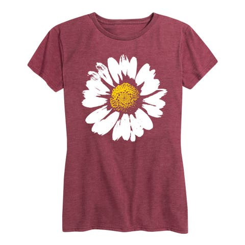 Big Daisy - Women's Short Sleeve Graphic T-Shirt