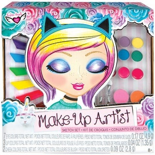 Unicorn Magic Make Up Artist Sketch Set-