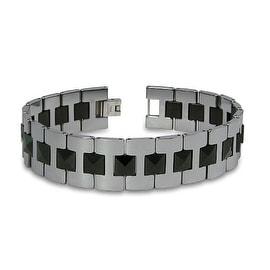 Tungsten Gladiator Men's Link Bracelet - 8.25 inches