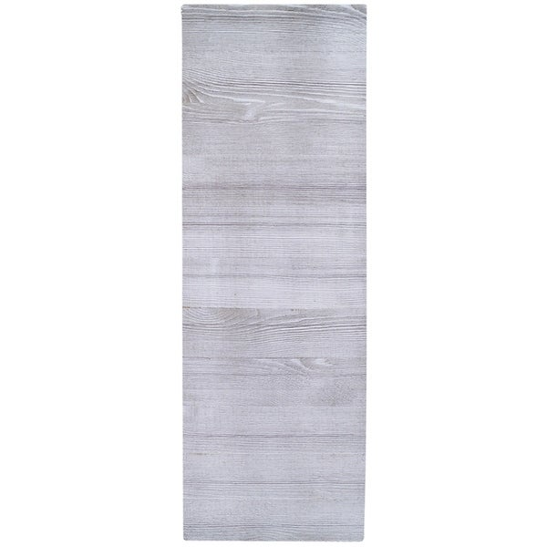 Jillibean Soup Mix The Media Wooden Plank 12 X36 Weathered White Free Shipping Today 18027002