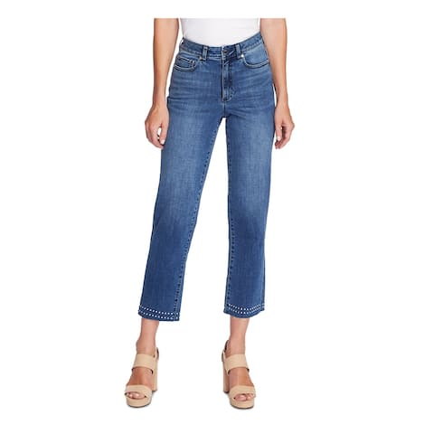 VINCE CAMUTO Womens Blue Embellished Jeans Size 32/14 - 32\14