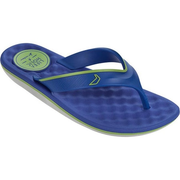 f95967fca0c24a Shop Rider Men s R Line Plus Thong Sandal Grey Blue Green - On Sale - Free  Shipping On Orders Over  45 - Overstock - 14667524
