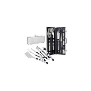 Picnic Time Stainless Steel BBQ Set
