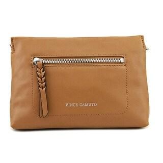 Vince Camuto Wilma Crossbody Women   Leather Tan Messenger - Beige