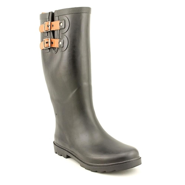 Chooka Top Solid Round Toe Synthetic Rain Boot