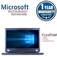 "Refurbished Lenovo ThinkPad W530 15.6"" Intel Core i7-3720QM 2.6GHz 8GB DDR3 240GB SSD DVD Win 10 Pro 64 (1 Year Warranty)"