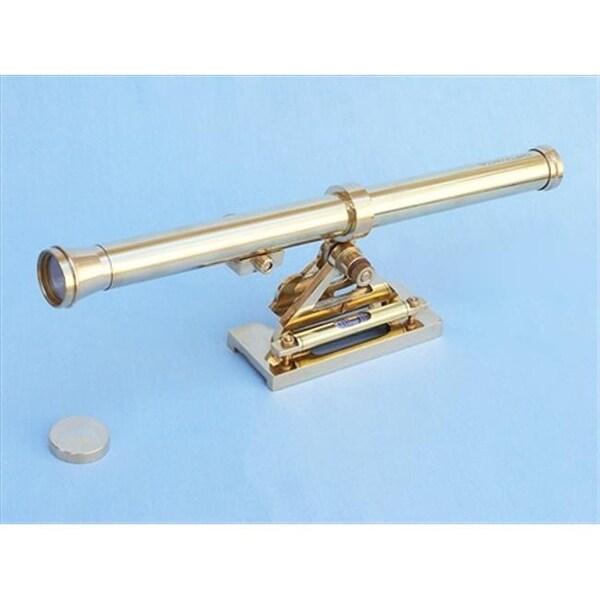 Brass Telescopic Alidade 40 In Telescopes Decorative Accent Free Cool Decorative Telescopes