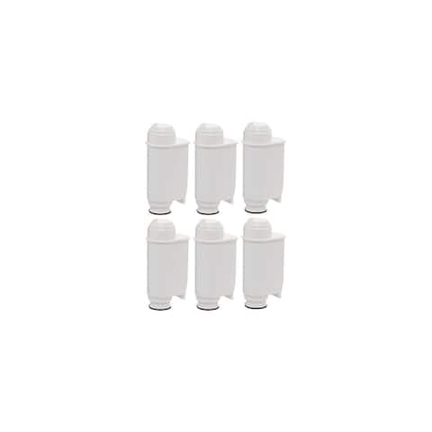 Fits Saeco Syntia Coffee Machine Brita Intenza+ Water Filter - 6 Pack