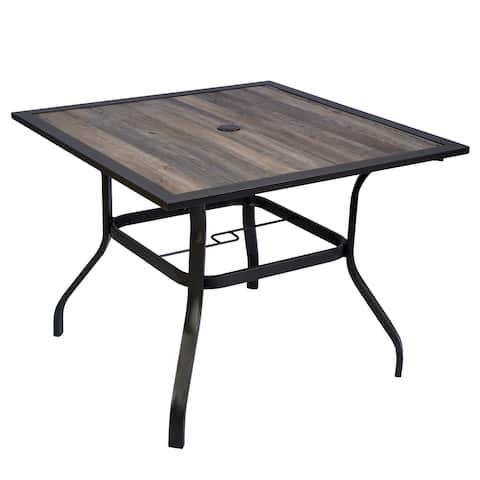 Kozyard Coolmen Outdoor Patio Dining Furniture Table
