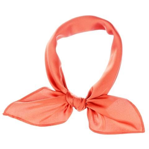 Silk Feel Neckerchief Square Scarf