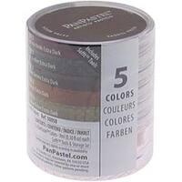 Extra Dark Shades - Earthtones Panpastel Ultra Soft Artist Pastel Set 9Ml 5/Pkg