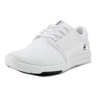 Etnies Scout Youth  Round Toe Synthetic White Skate Shoe