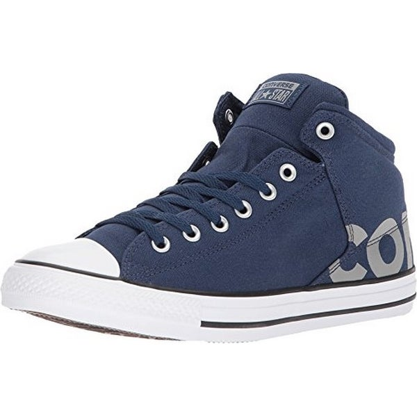 Converse Unisex Chuck Taylor All Star High Street Hi Top, Navy/White/Dolphin
