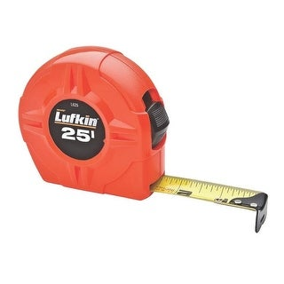 "Lufkin L625/L525 High-Viz Orange Tape Rule, 1"" x 25'"