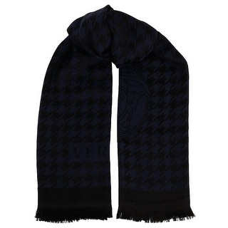 Versace IT00599 100% Wool Houndstooth Ladies Shawl