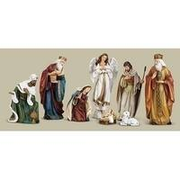 "Set of 8 Joseph's Studio Traditional Inspirational Religious Nativity Figures 9"""